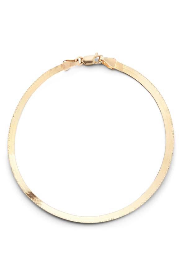 Lana Liquid Gold Chain Bracelet In Yellow Gold