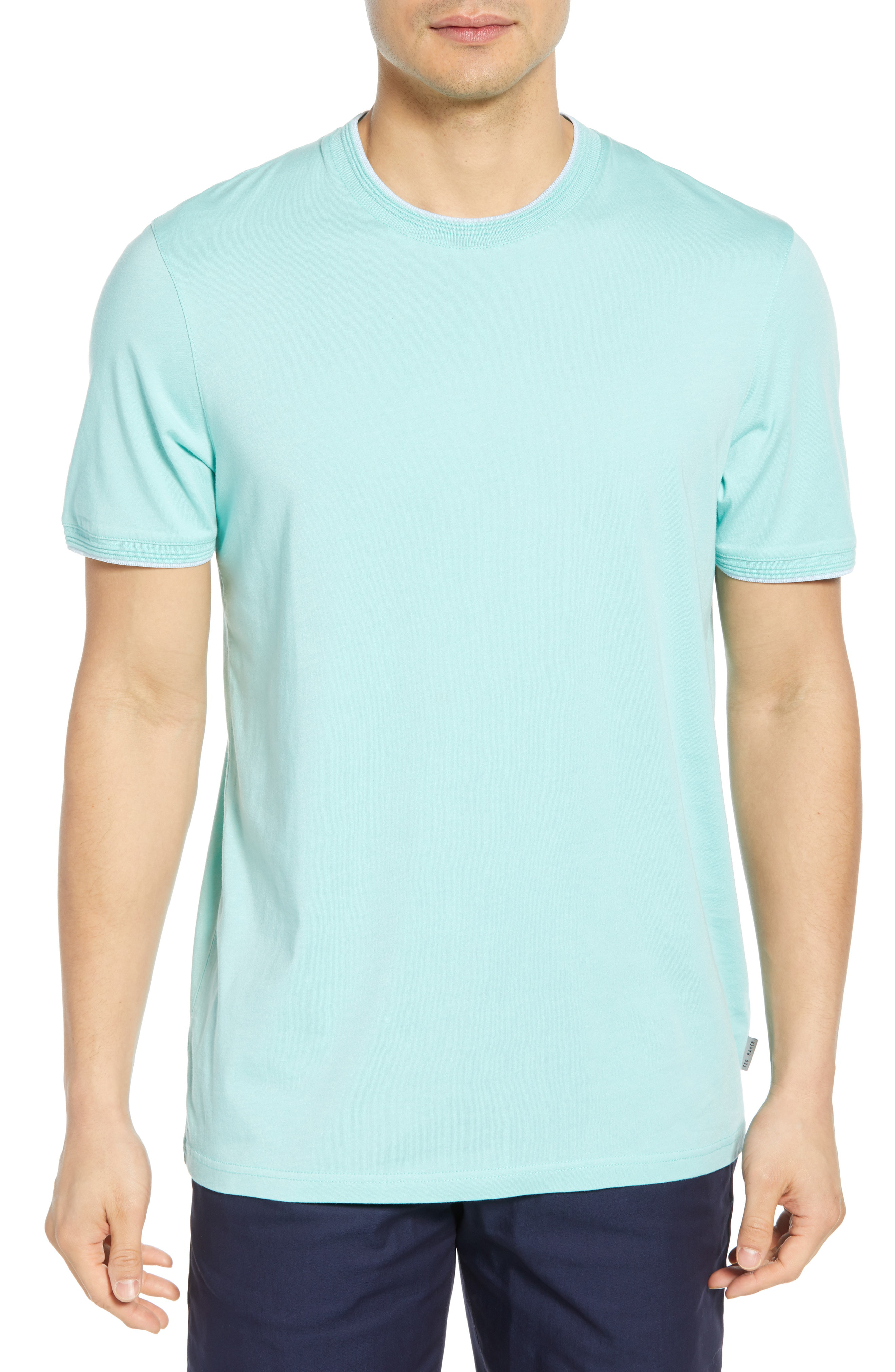 Ted Baker Sink Slim Fit T-Shirt In Mint