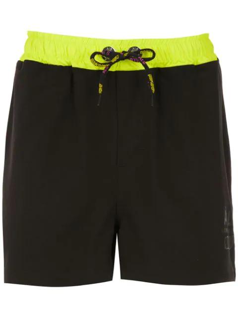 ÀLg X Pakalolo Track Shorts - Schwarz In Black