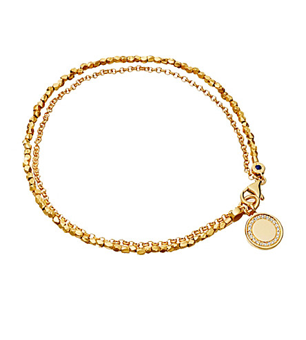 Astley Clarke Cosmos Biography Bracelet In 18K Gold-Plated Sterling Silver Or 18K Rose Gold-Plated Sterling Silver In Yellow Vermeil