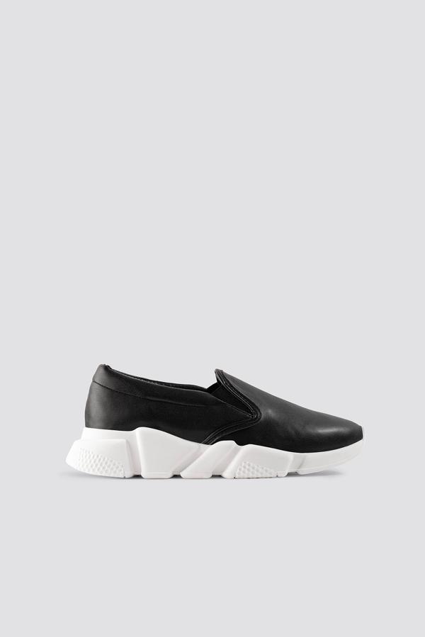 Na-kd Chunky Slip In Sneakers - Black