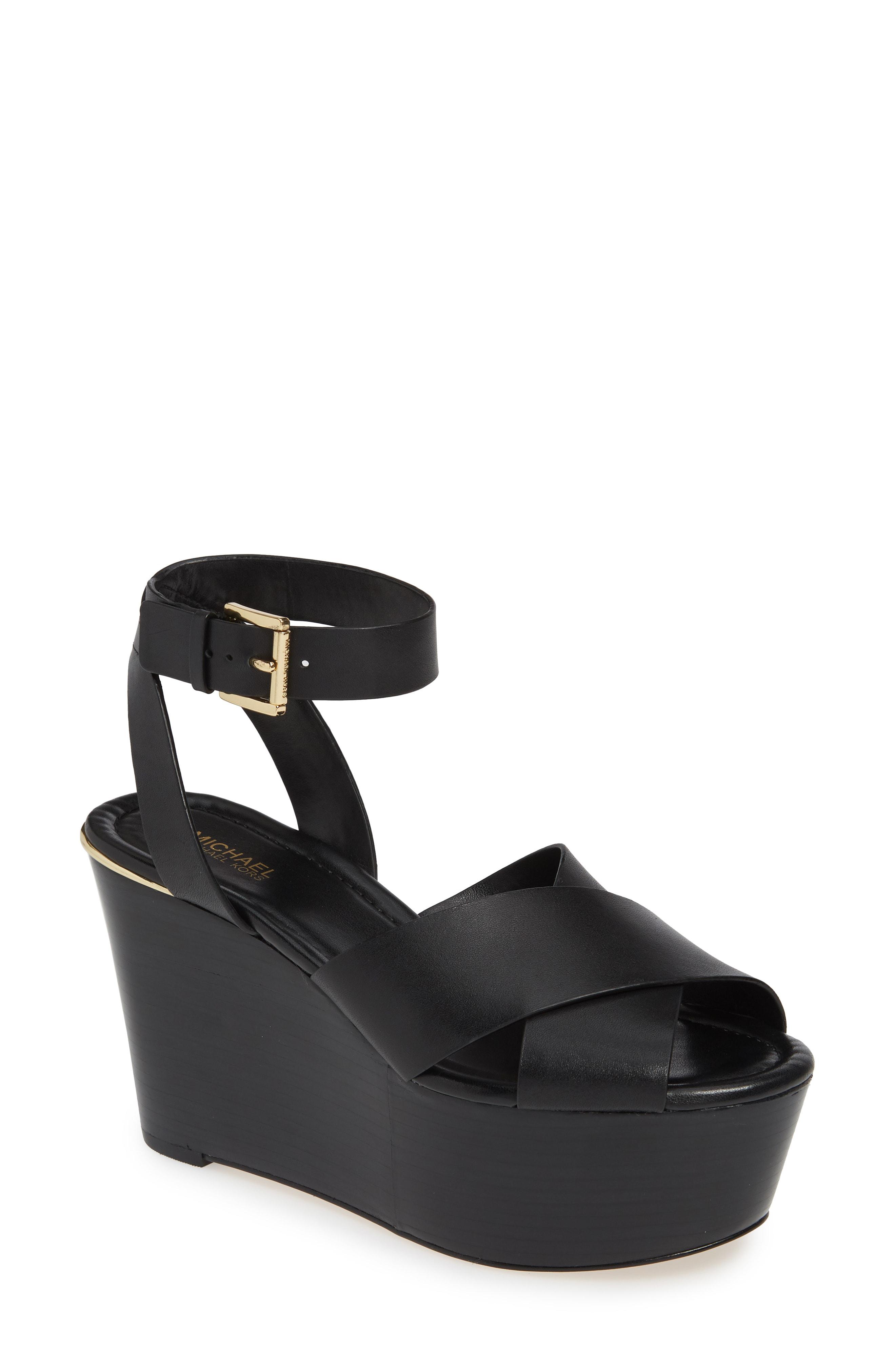 b389392f556ad Style Name  Michael Michael Kors Abbott Platform Wedge Sandal (Women).  Style Number  5771149.