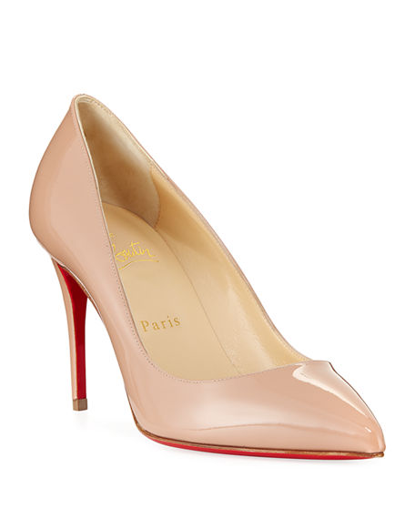 b8a775026470 Christian Louboutin Pigalle Follies 85Mm Patent Red Sole Pump In ...
