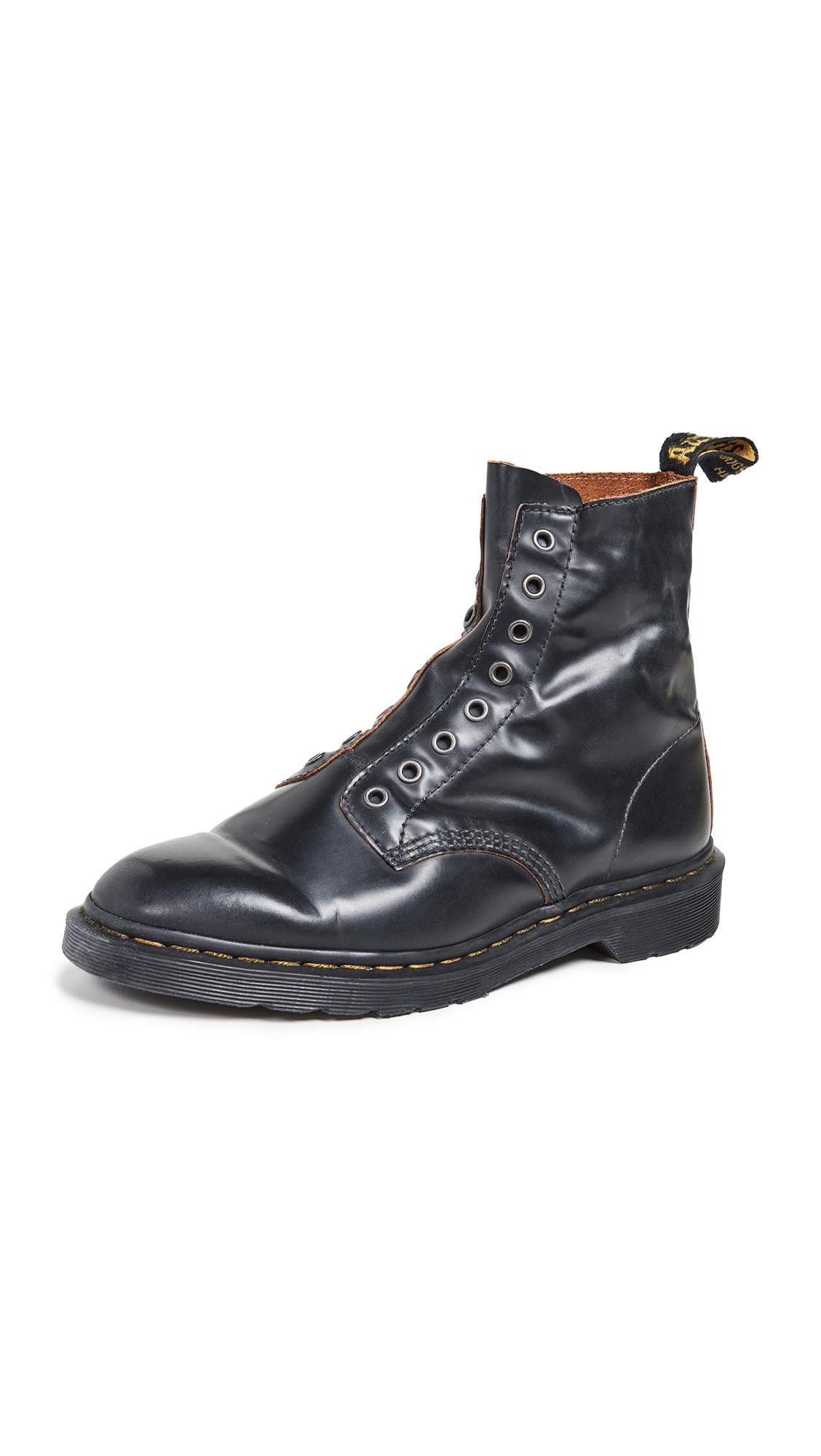 a40d02ca Dr. Martens 1460 Ll 8 Eye Boots In Black   ModeSens
