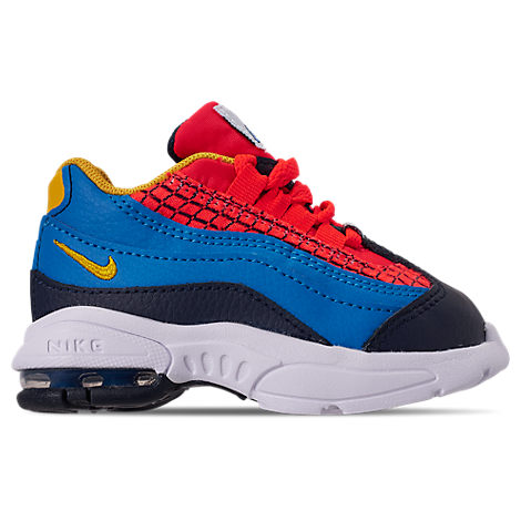 Nike Boys' Toddler Air Max 95 Now Casual Shoes In Blue ...