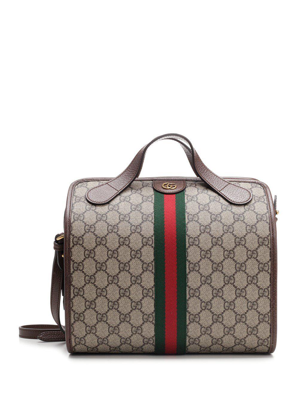 e4990d4d81d Gucci Gg Supreme Ophidia Mini Duffle Bag In Multi