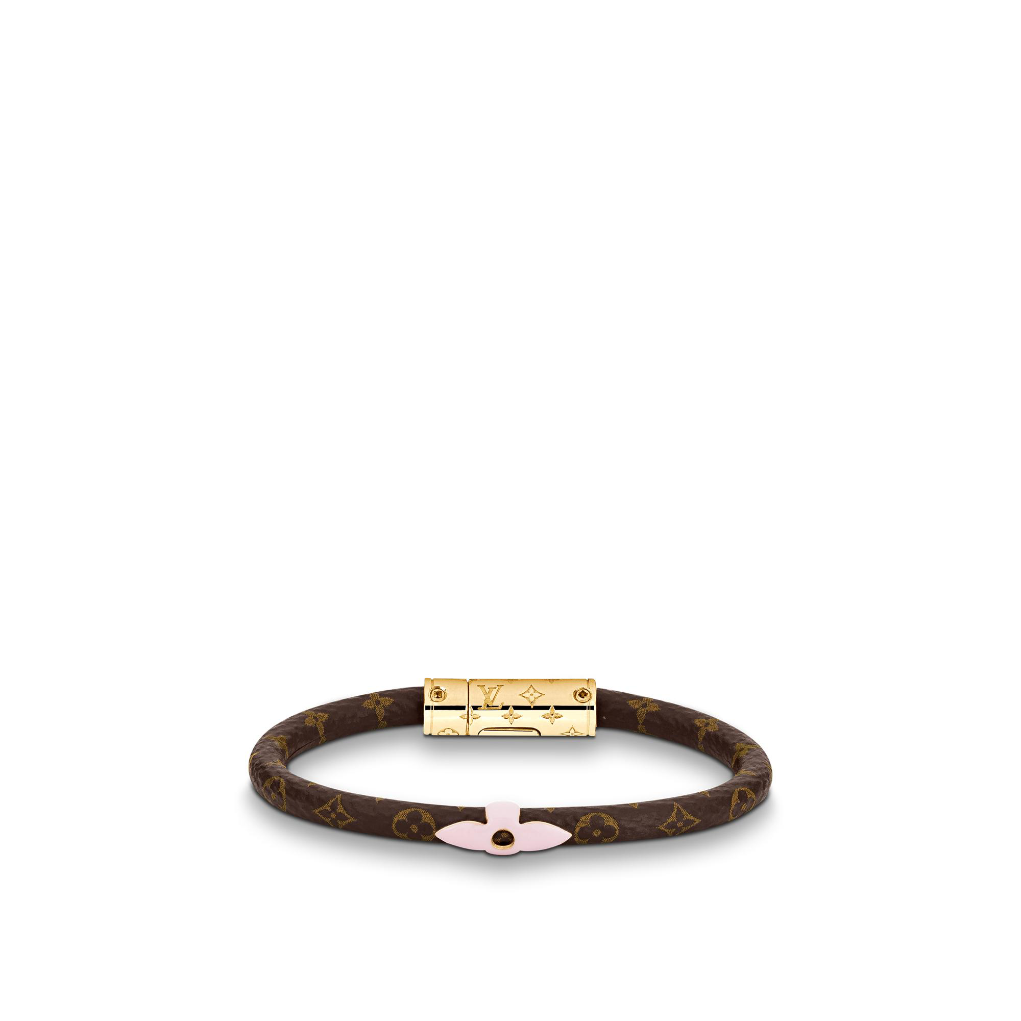 Louis Vuitton Daily Confidential Bracelet In Rose Poudre