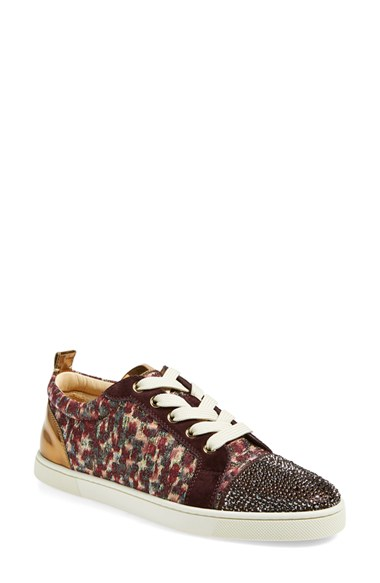 e576e6983497 Christian Louboutin Gondola Strass Low-Top Sneaker