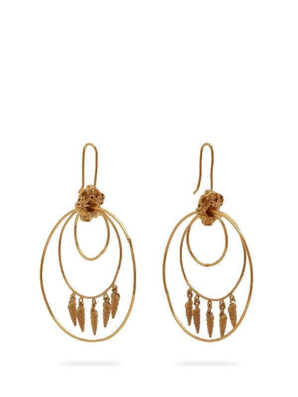 Orit Elhanati Lolita Gold-plated Hoop Earrings