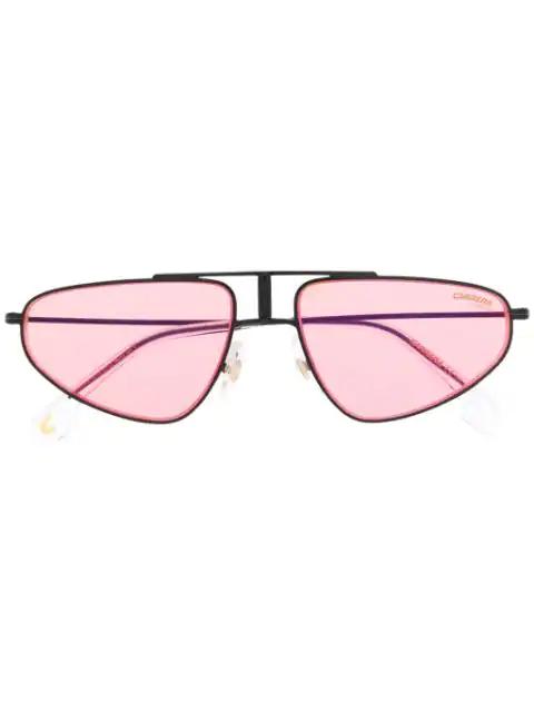 Carrera Cat Eye Sunglasses In Black
