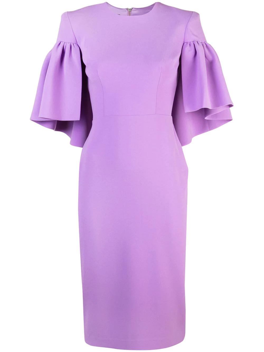 eb3e401488b ALEX PERRY. Alex Perry Structured Shoulders Dress ...