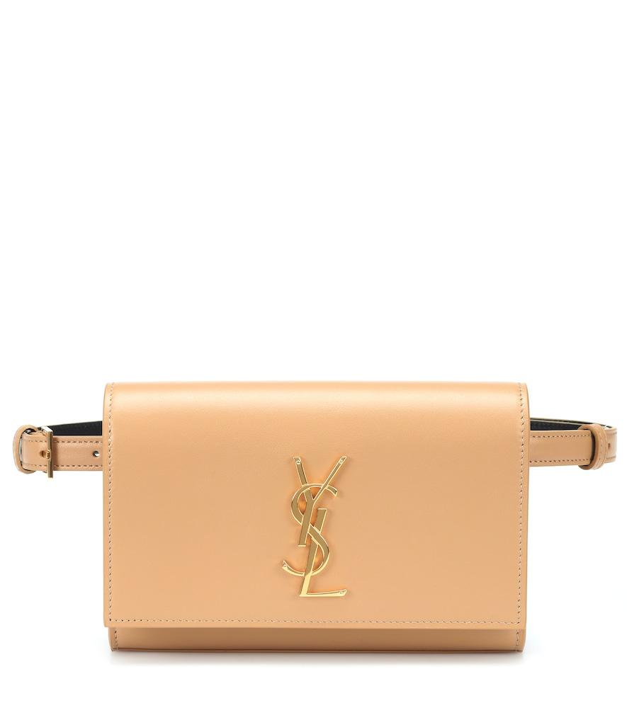 4137c0033cd Saint Laurent Kate Leather Belt Bag In Brown | ModeSens