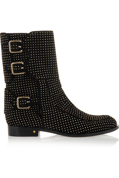 Laurence Dacade 'Rick' Studded Ankle Boots In Black