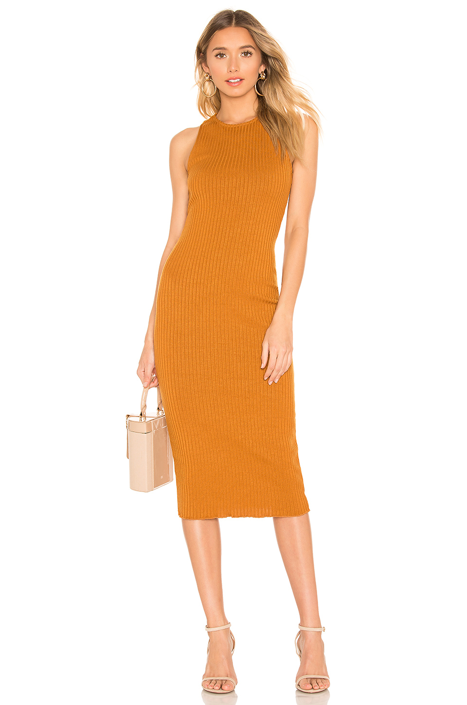 House Of Harlow 1960 House Of Harlow X Revolve 1960 Shannon Dress In Toffee