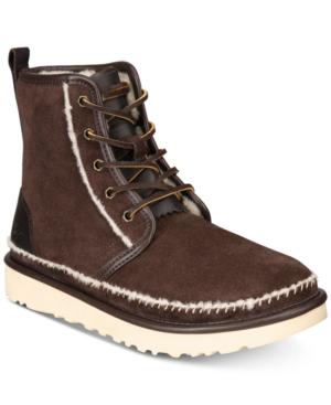 ce27f3d7f1b Ugg Men's Harkley Stitch Boots Men's Shoes In Stout | ModeSens
