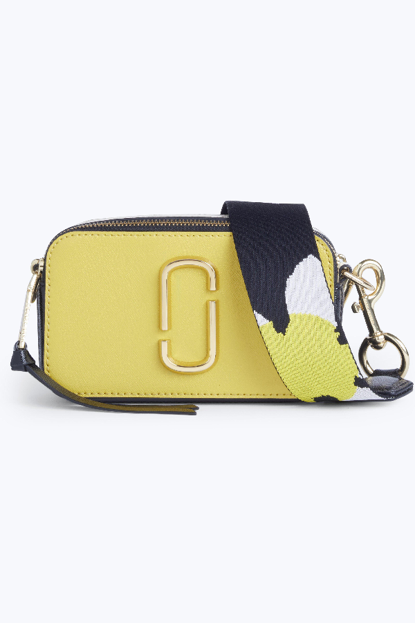 Marc Jacobs Snapshot Leather Camera Bag In Sunshine Multi