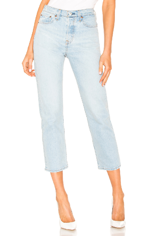 280a2f52f97b4b Levi's Levis Blue Wedgie Straight Jeans In Dibs | ModeSens