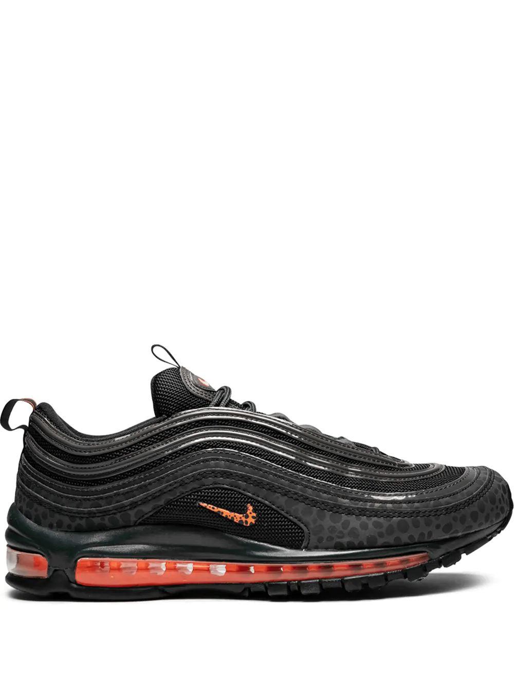 premium selection 5ec6a a3042 Nike Air Max 97 Se Reflective Sneakers - Black In Off Noir Total Orange