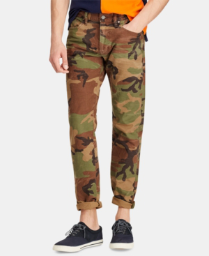 1379a5d50 Polo Ralph Lauren Men s Big   Tall Hampton Relaxed Straight Jeans In Fenton  Stretch Camo