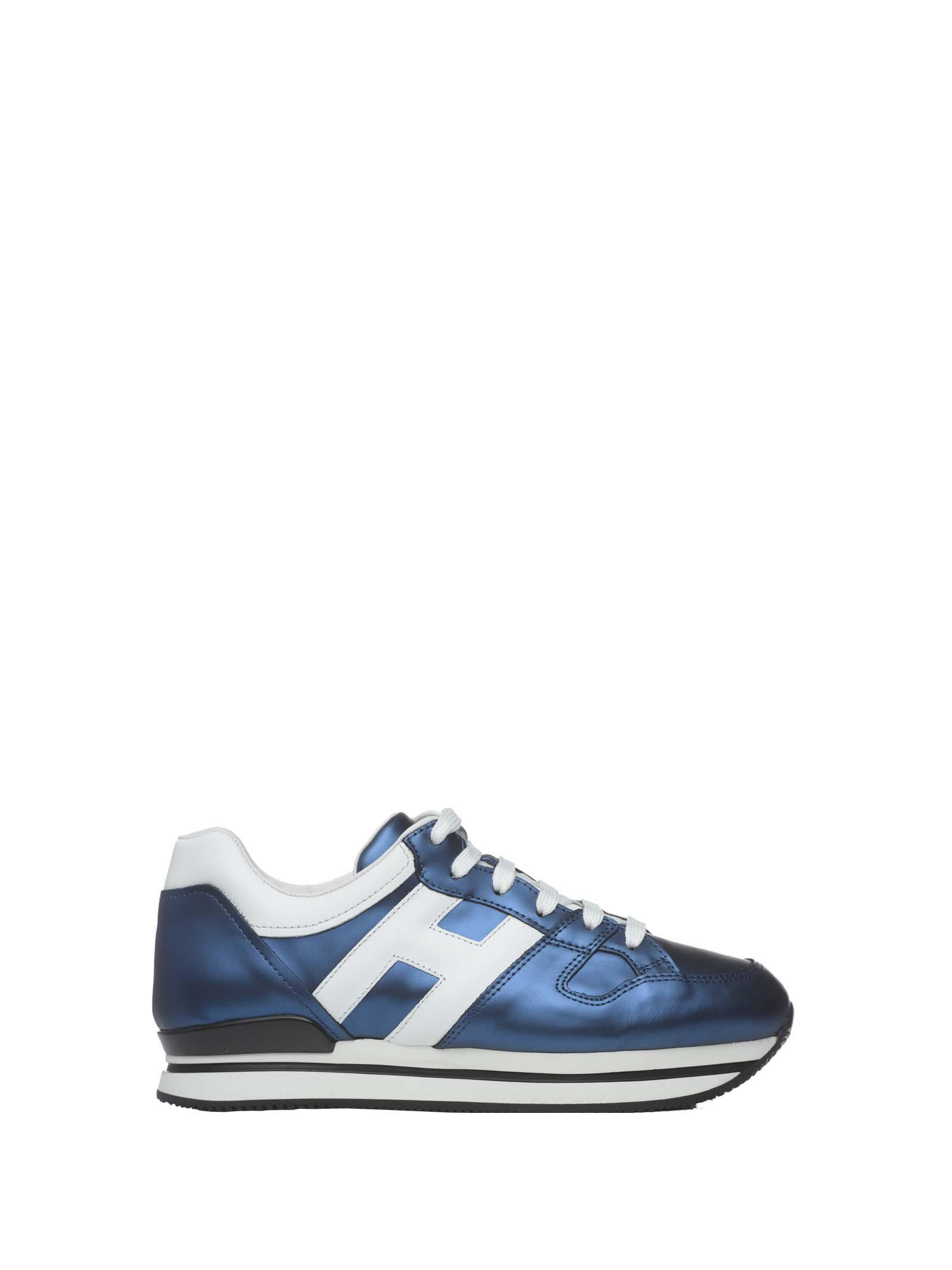 Hogan H222 Sneakers In Blu Chiaro Bianco   ModeSens