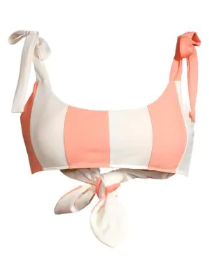 Paper London Sushine Bikini Top In Multi
