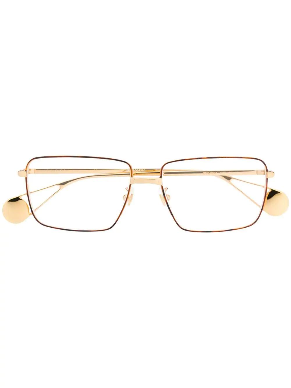 2bd4caf84c271 Gucci Eyewear Square Frame Glasses - Gold