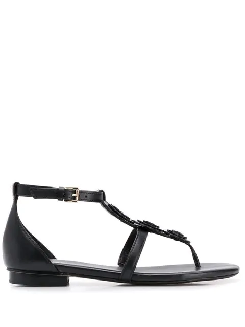 Michael Michael Kors Felicity Sandals In Black