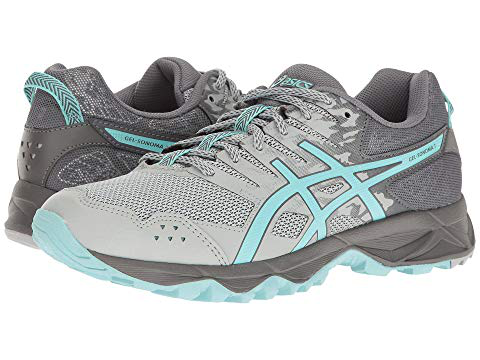 Asics , Mid Grey/aqua Splash/carbon