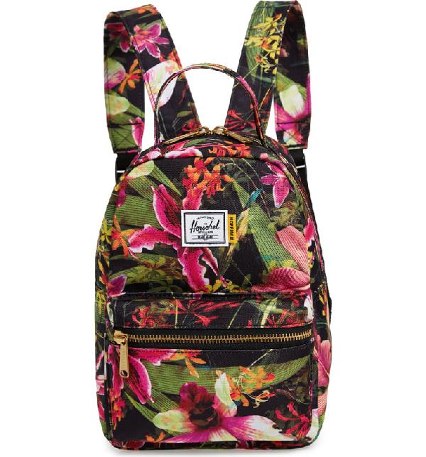 c048f7ae0d291 Herschel Supply Co. Mini Nova Backpack - Black In Jungle Hoffman ...