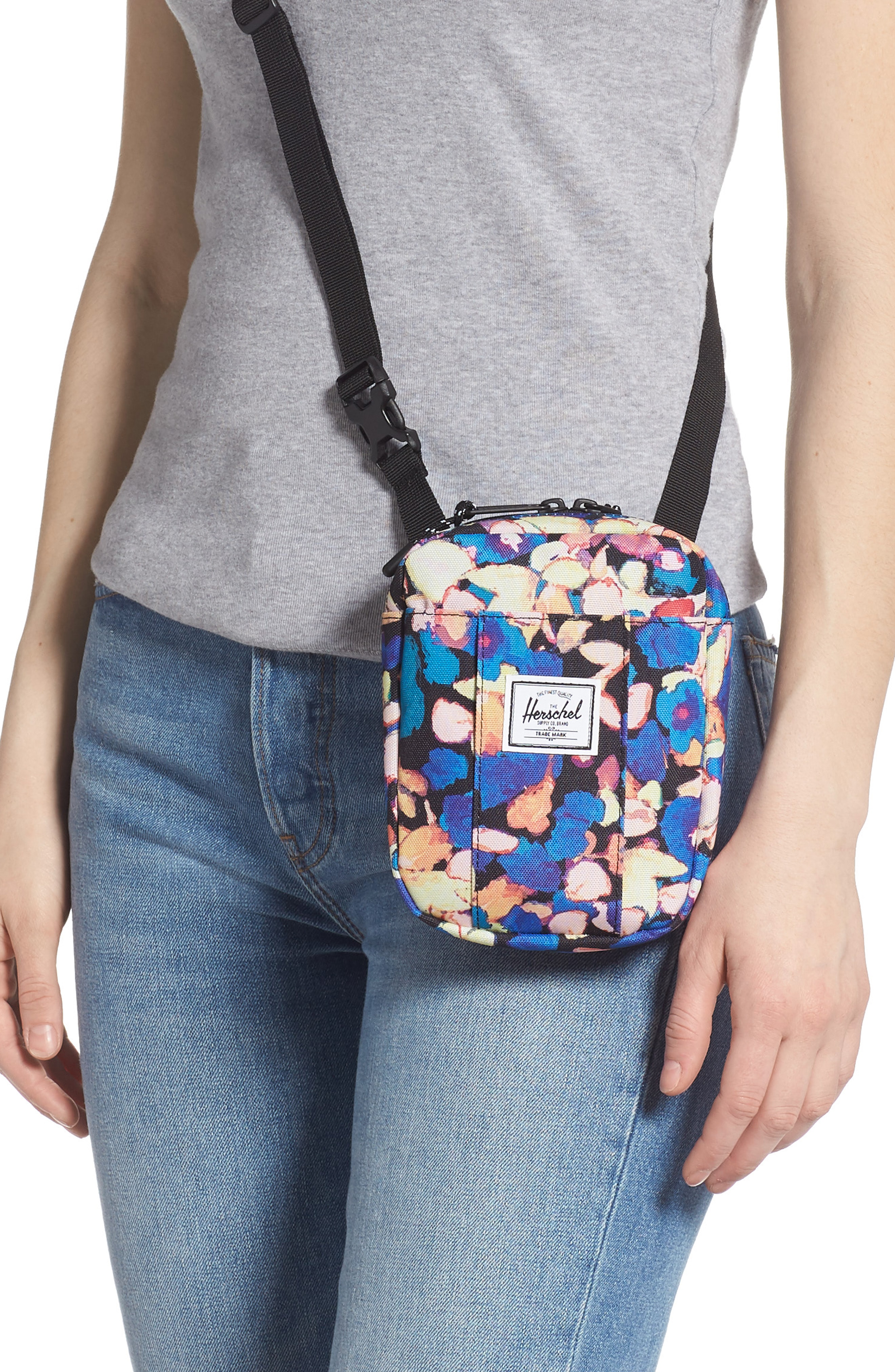 A signature logo patch fronts a smart crossbody bag perfectly sized for  vacations or a walk around the city. This durable and compact style  features an ... 21028e37e03eb