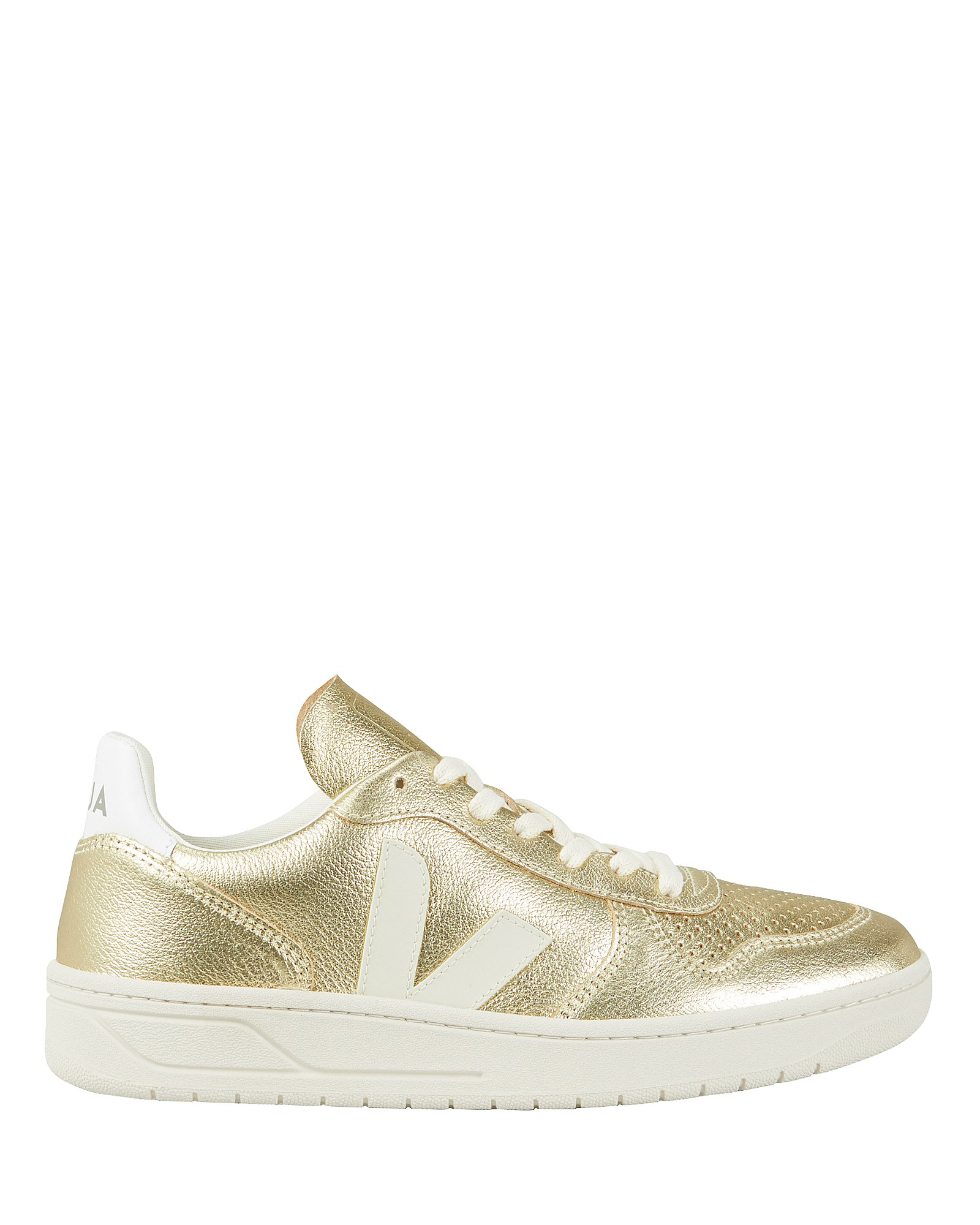 Perforated Low Sneakers 10 Gold Top V LzpSUjGqMV