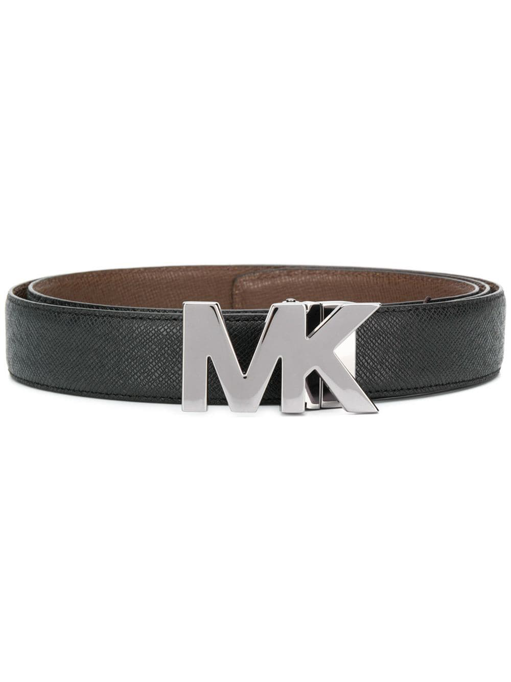 1351c916c27d Michael Kors Logo Buckle Belt - Black   ModeSens