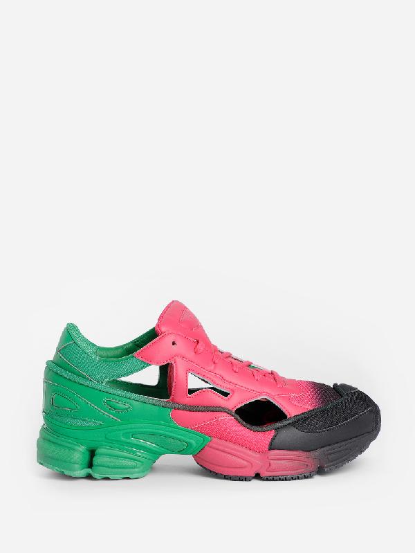 Raf Simons + Adidas Originals Replicant Ozweego Sneakers In Multicolor