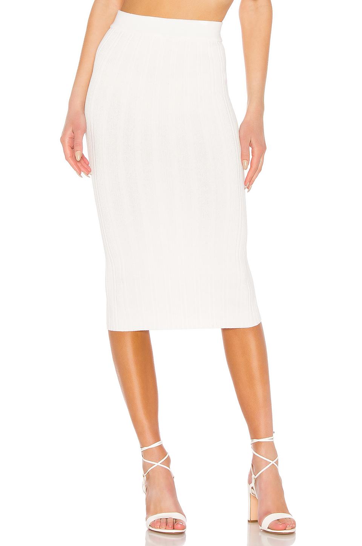 Eleven Six Ana Tube Skirt In White