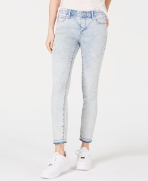 Articles Of Society Carly Released-Hem Skinny Jeans In St. Vincent