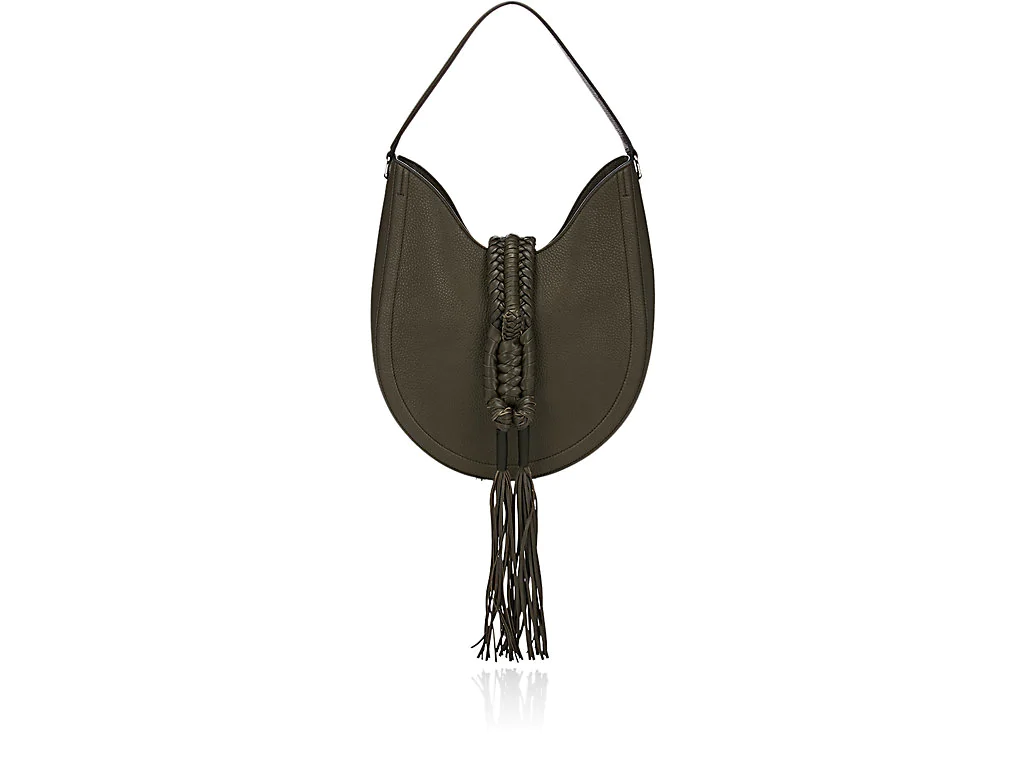 Altuzarra Ghianda Knot Small Hobo Bag In Cactus