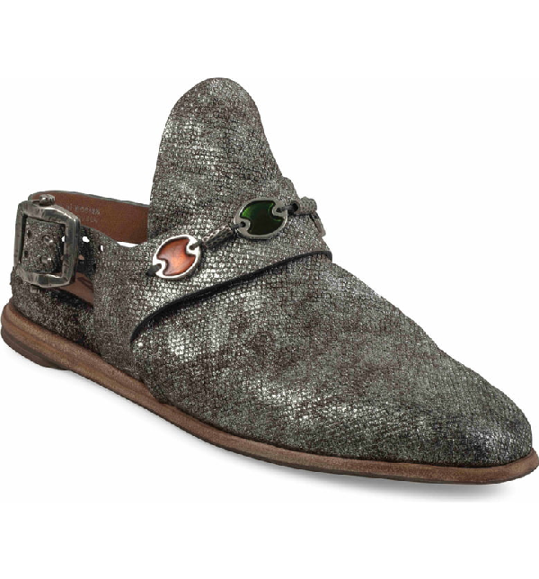 A.S.98 Gallagher Flat In Pewter