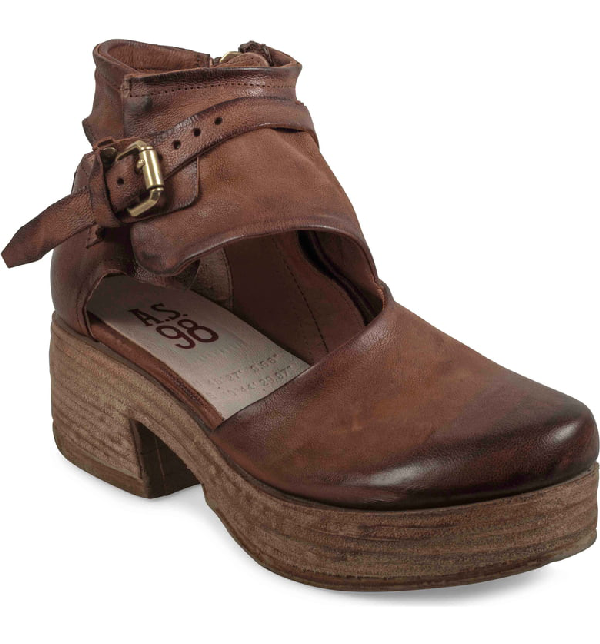 A.S.98 Pree Clog In Whiskey