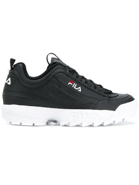 Fila Low Top Disruptor Sneakers In 25y Black