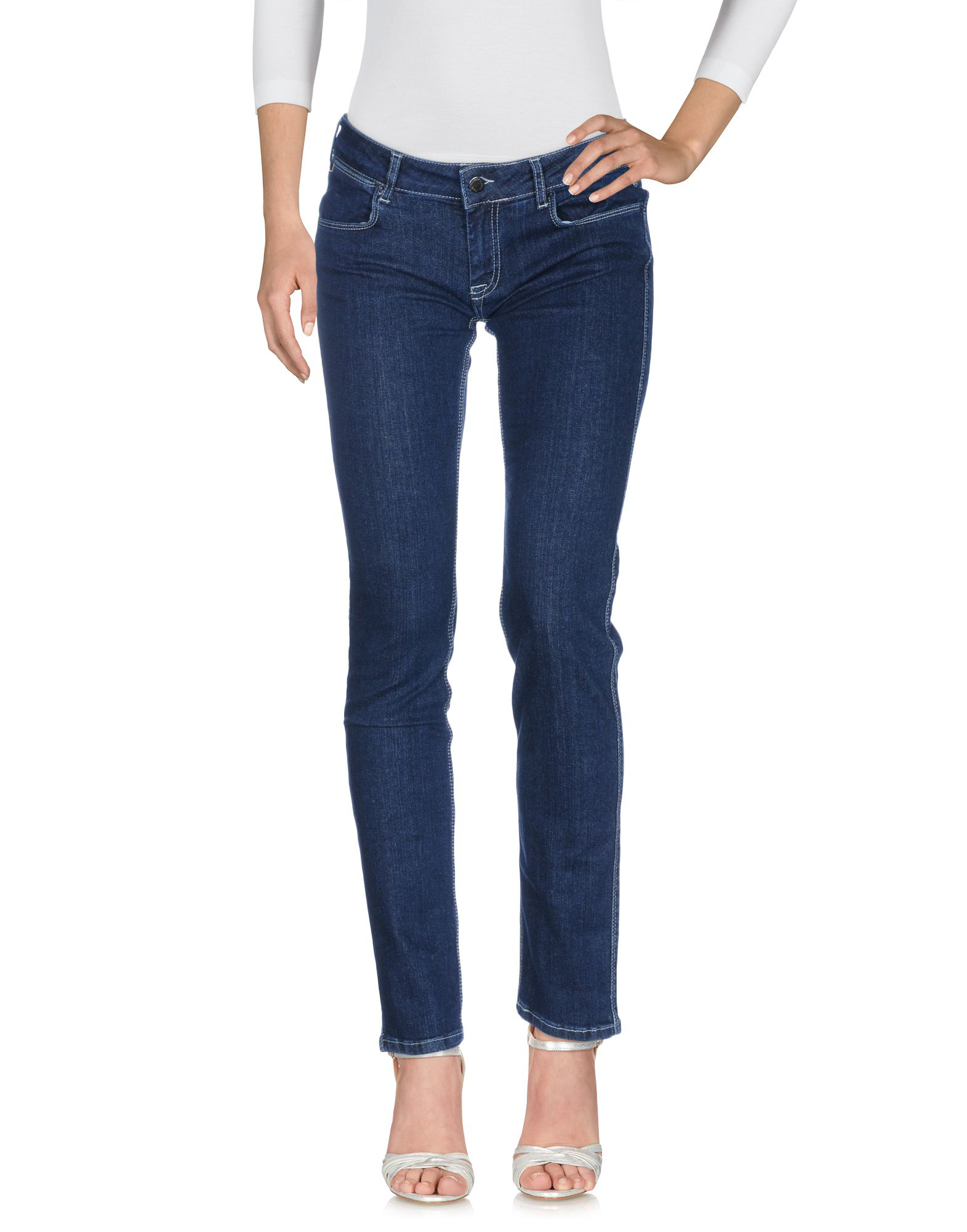 Calvin Klein Collection Jeans In Blue
