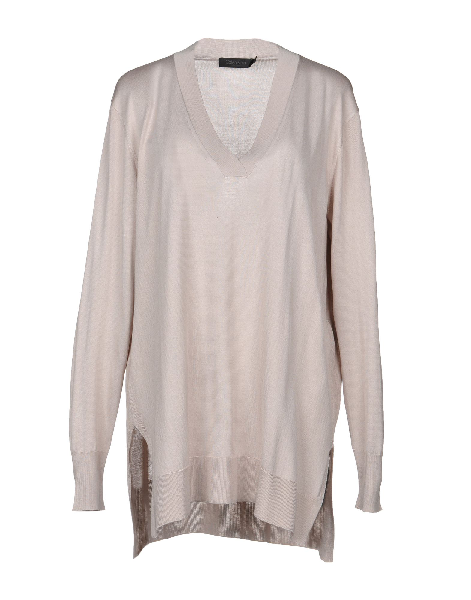 Calvin Klein Collection Sweater In Light Pink