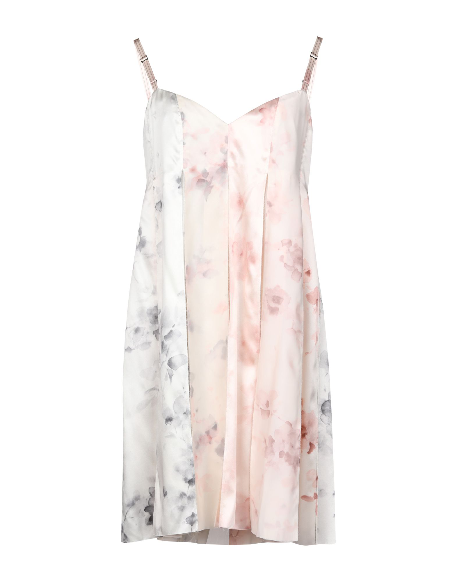 Calvin Klein Collection Short Dress In Light Pink