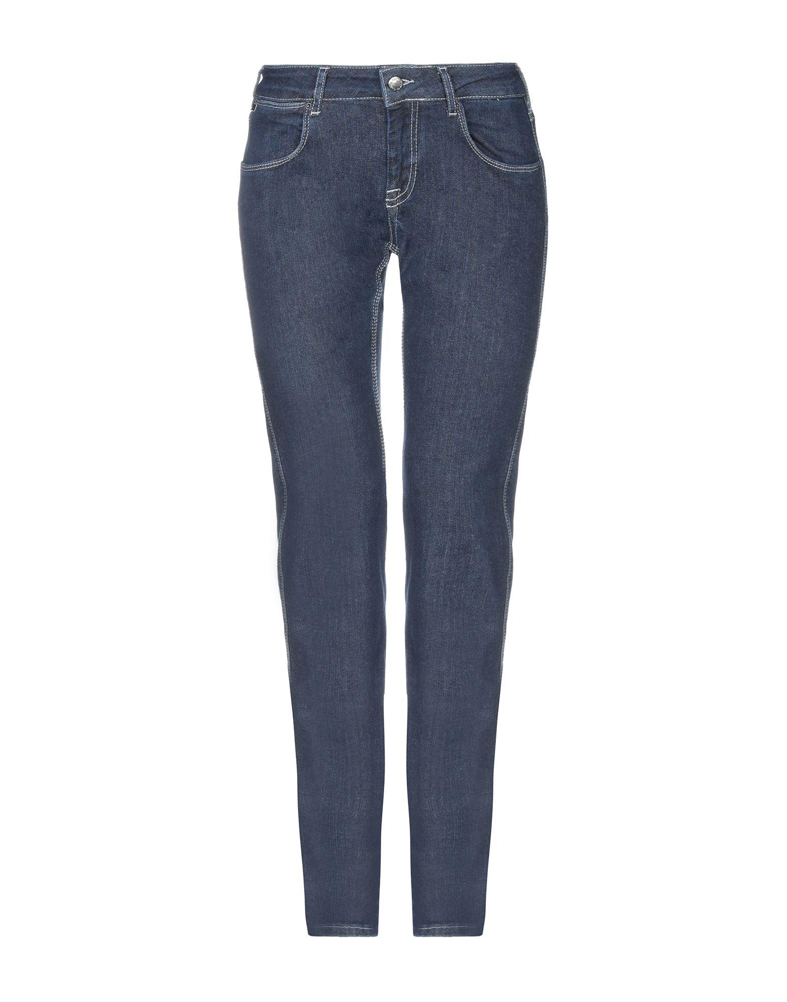 Calvin Klein Collection Denim Pants In Blue
