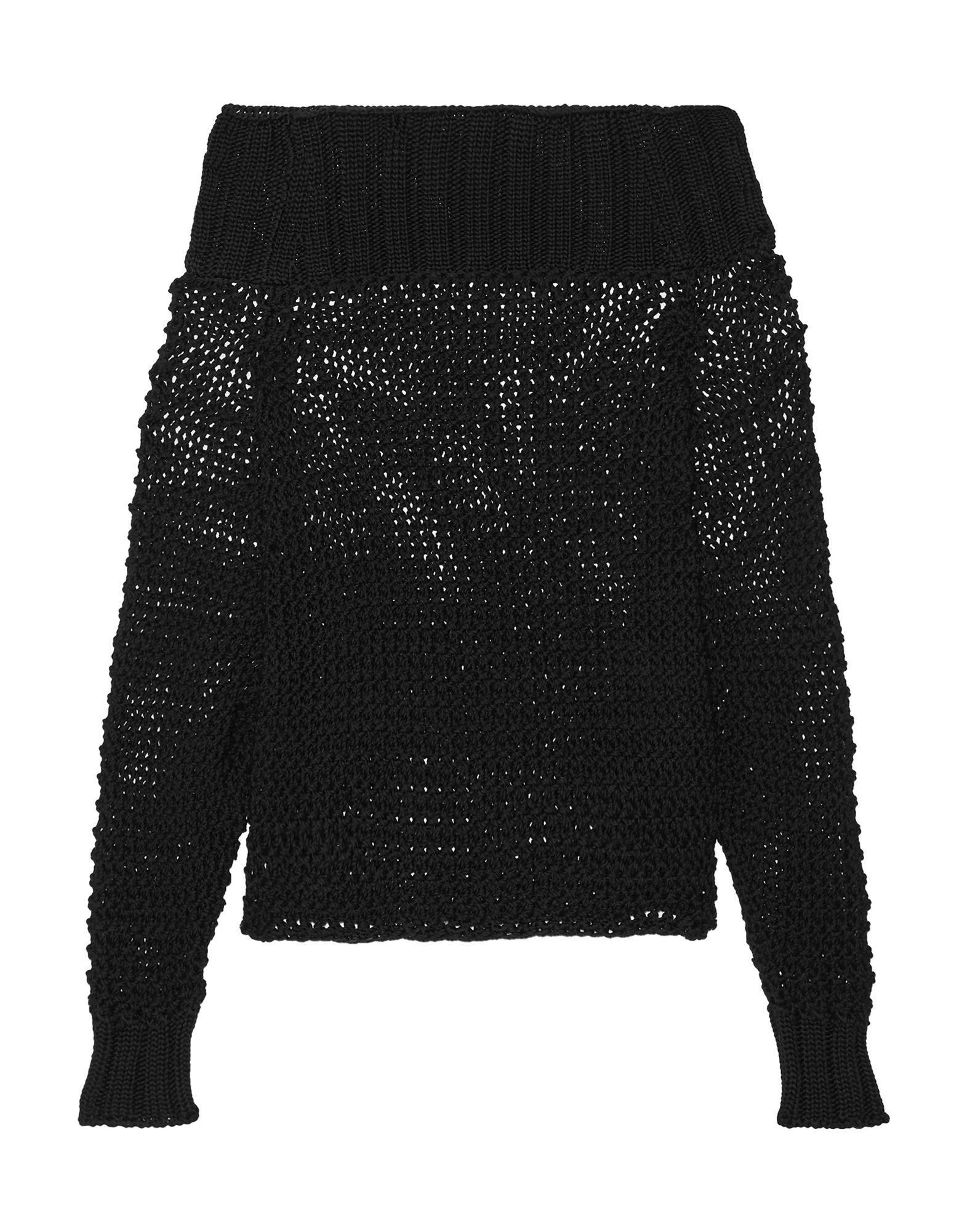 Calvin Klein Collection Sweater In Black