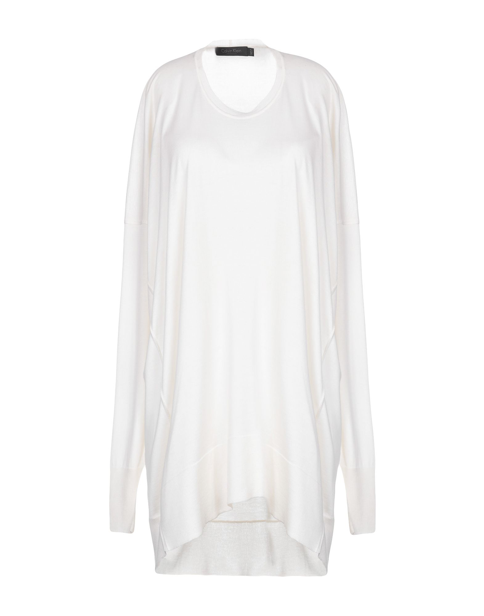 Calvin Klein Collection Cashmere Blend In Ivory