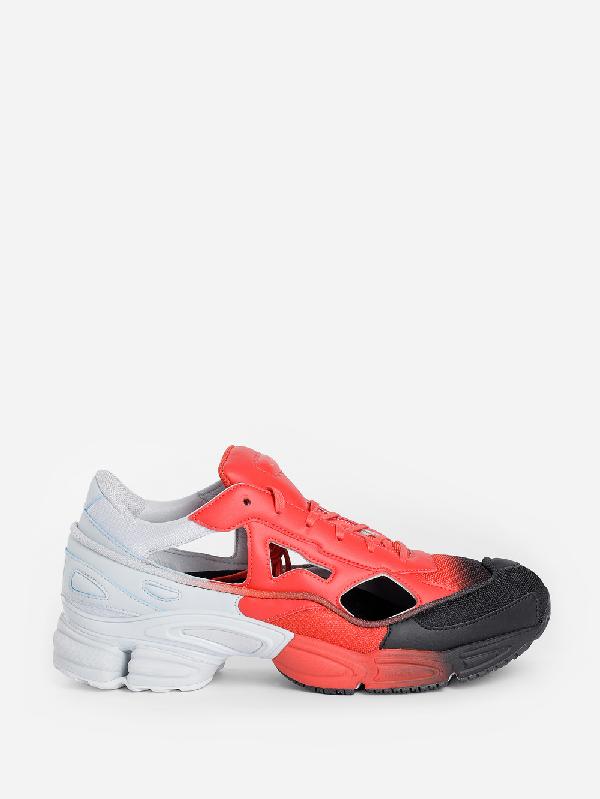 Raf Simons + Adidas Originals Replicant Ozweego Sneakers In 03042 Rdblu