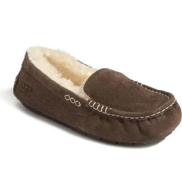 88b26092a89 Ugg Ansley Water Resistant Slipper In Chocolate | ModeSens