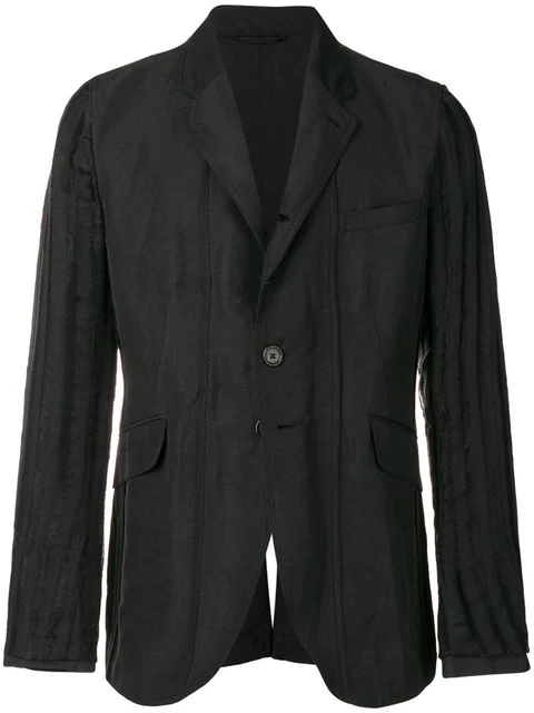 Ann Demeulemeester Francis Blazer In Black