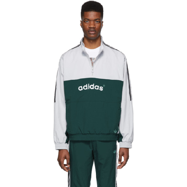 Adidas Originals Green Archive Track Pants In GreenGrn