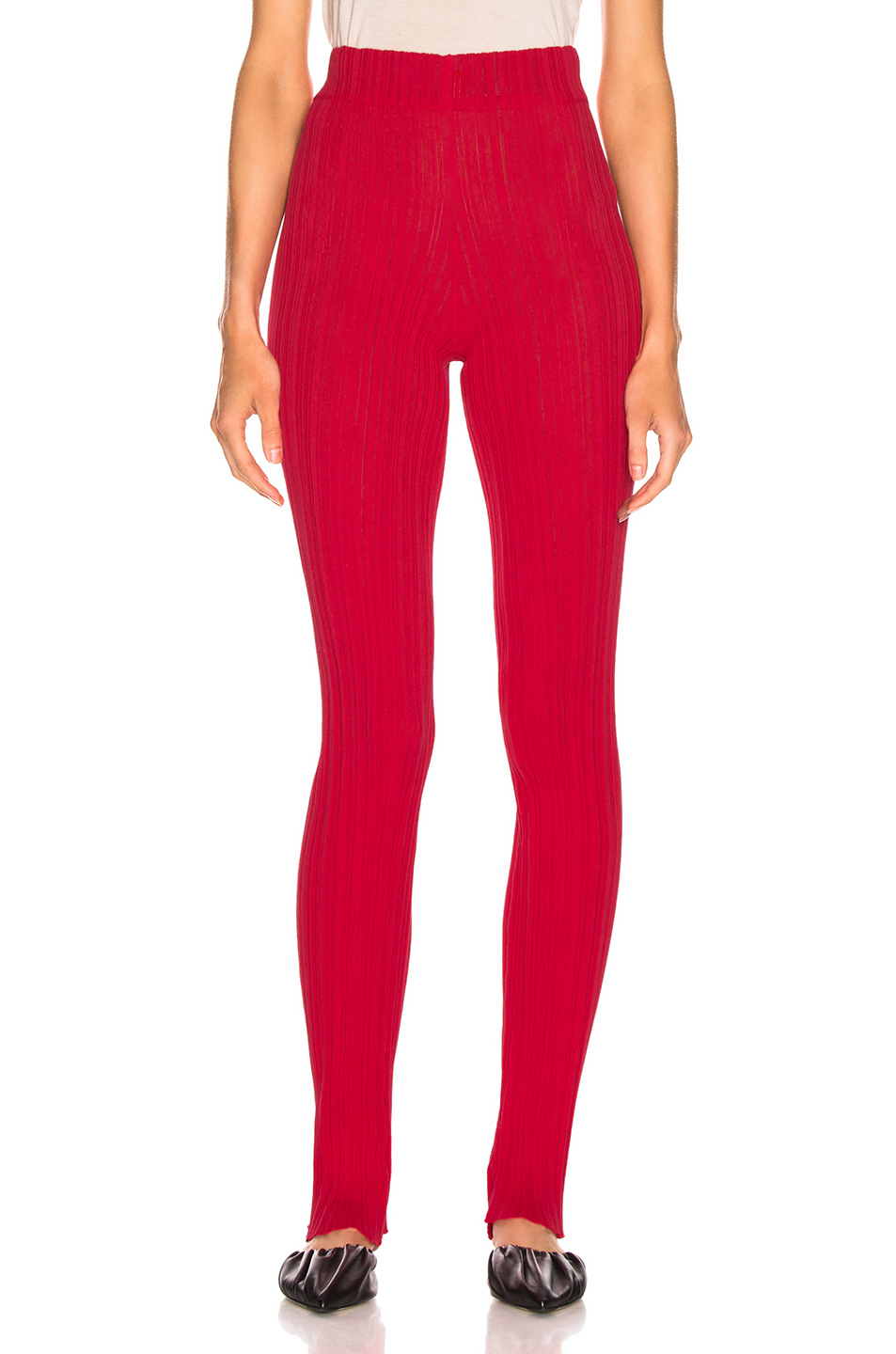 Acne Studios Keera Pant In Tomato Red